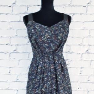 BCBG Sleeveless Mini Dress Boucle Lightweight 12